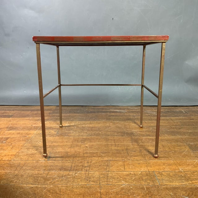 19th Century Chinese Red Lacquered Nesting Tables - Set of 3 For Sale In New York - Image 6 of 13