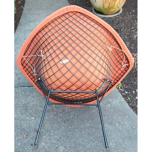 Original Knoll Harry Bertoia Diamond Chair - Image 4 of 5