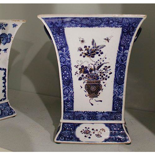 Late 18th Century Chinese Export Bough Pots - A Pair - Image 3 of 9