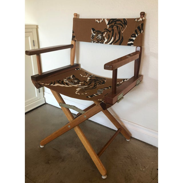 1970s Le Tigre Directors Chair For Sale - Image 5 of 10