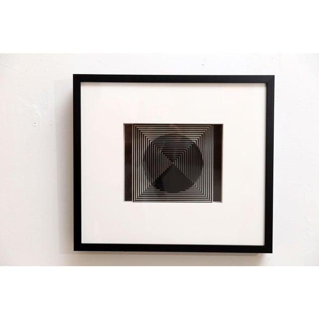 Four Original Victor Vasarely 3D Op Art Prints - Image 6 of 10