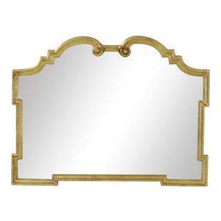 Labarge Regency Style Gold Overmantle Sideboard Mirror For Sale