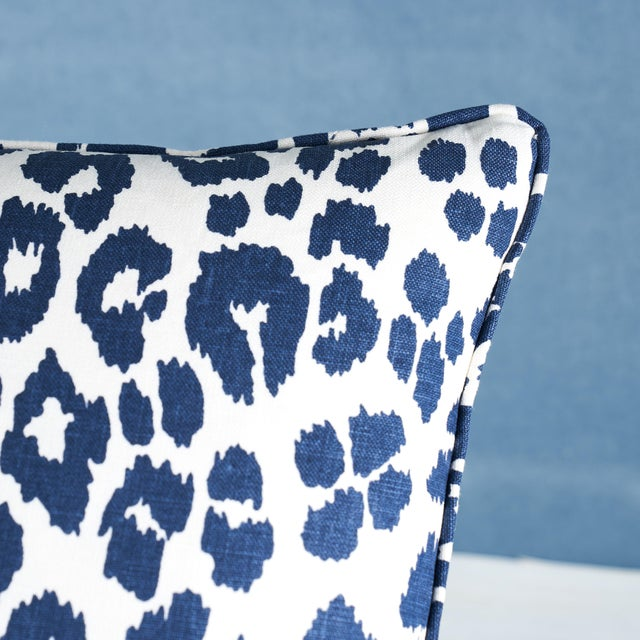 This pillow features Iconic Leopard with a self welt finish. We first introduced this sexy pattern in the 1970s. In 11...
