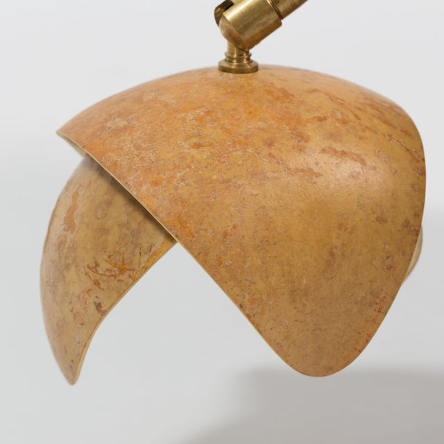 2010s Petal Gourd Wall Sconce For Sale - Image 5 of 6