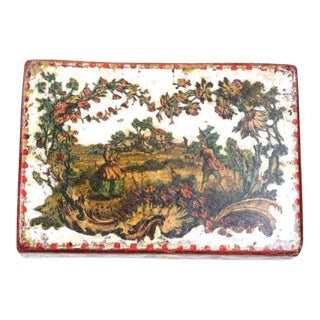 Italian Arte Povera Box, Mid-18th Century