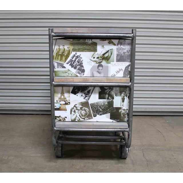Photo Collage 2-Tier IronTrolley with Storage - Image 5 of 6