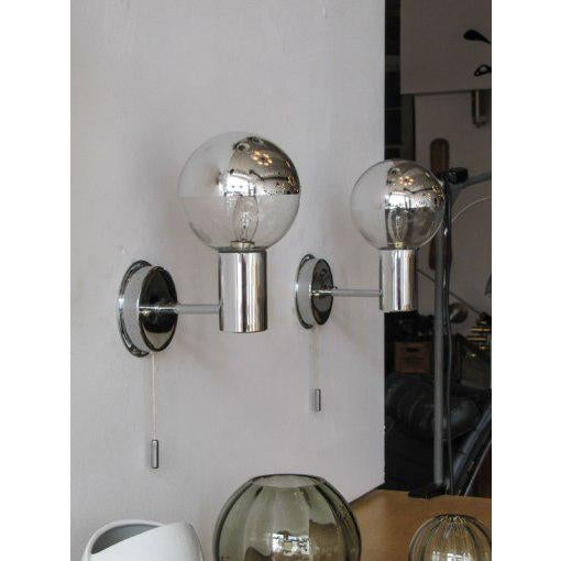 Staff Wall Lights by Motoko Ishii - A Pair For Sale In Los Angeles - Image 6 of 10