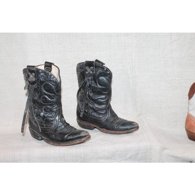 Collection of 1930s Children's Cowboy Boots - Image 7 of 10