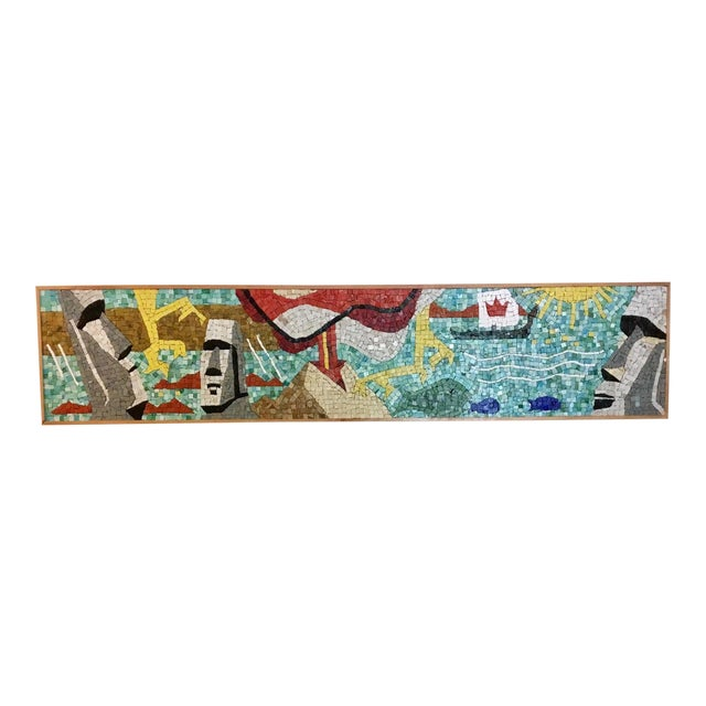 Easter Island Mosaic For Sale