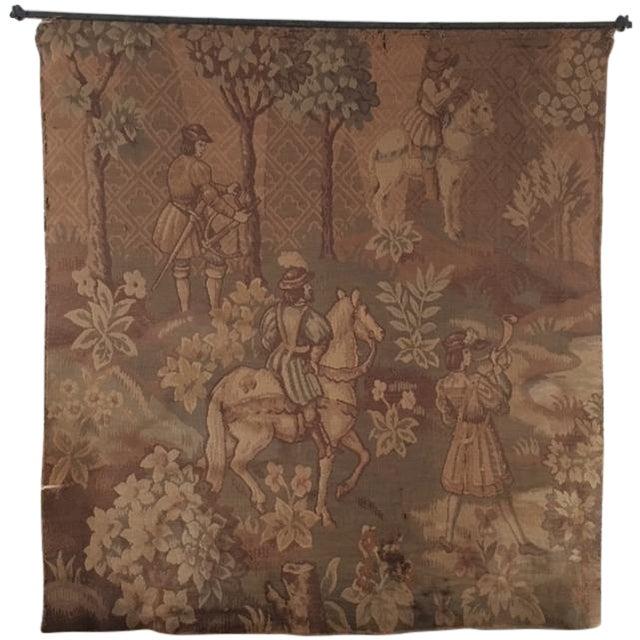 Hunt Scene Tapestry - Image 1 of 3