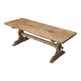 1870s Antique French Farm House Table For Sale