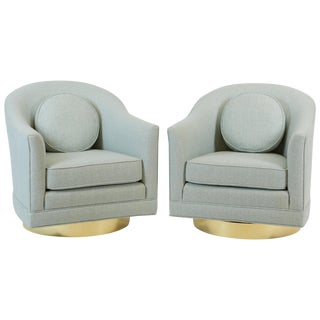 Harvey Probber Swivel Chairs For Sale