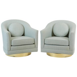 Image of Mohair Side Chairs