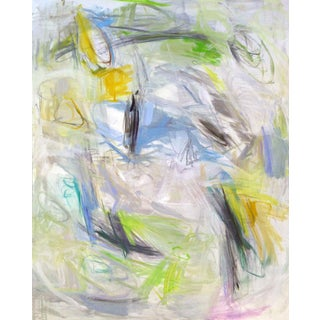 "Extra-Large ""Regatta"" by Trixie Pitts Abstract Expressionist Oil Painting For Sale"