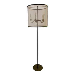 Modern Candelabra Floor Lamp For Sale