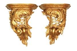 Image of Art Nouveau Decorative Brackets