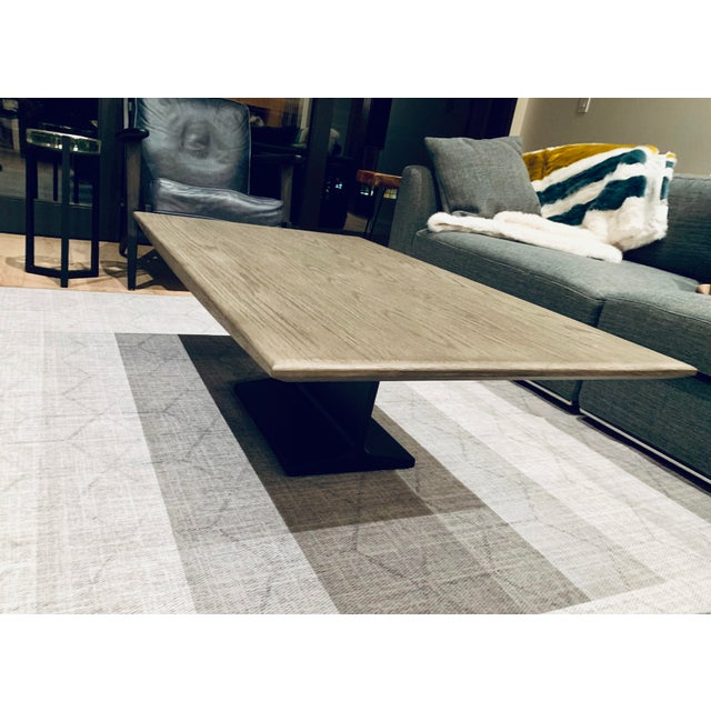 2010s Restoration Hardware I-Beam Coffee Table For Sale - Image 5 of 5