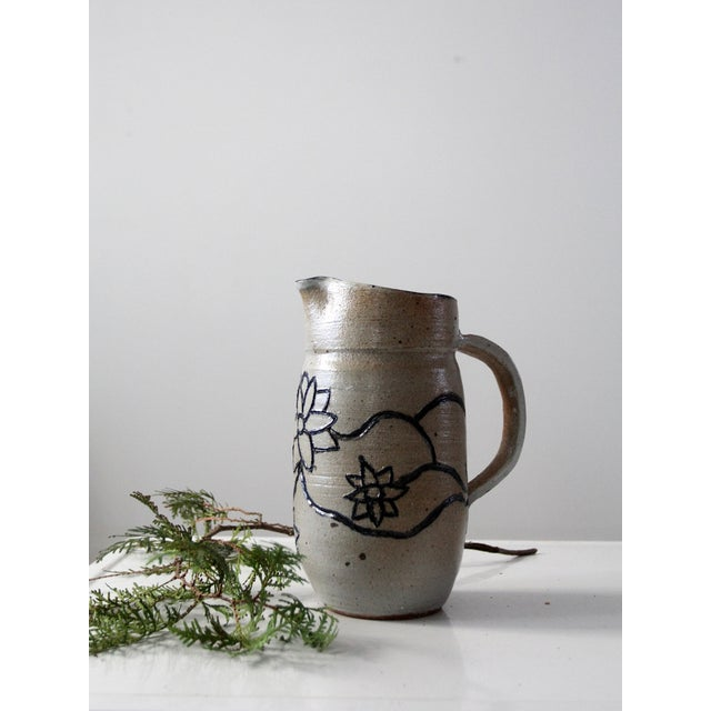 Studio Pottery Pitcher - Image 8 of 8