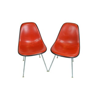 Mid -Century Herman Miller Shell Chairs - a Pair For Sale