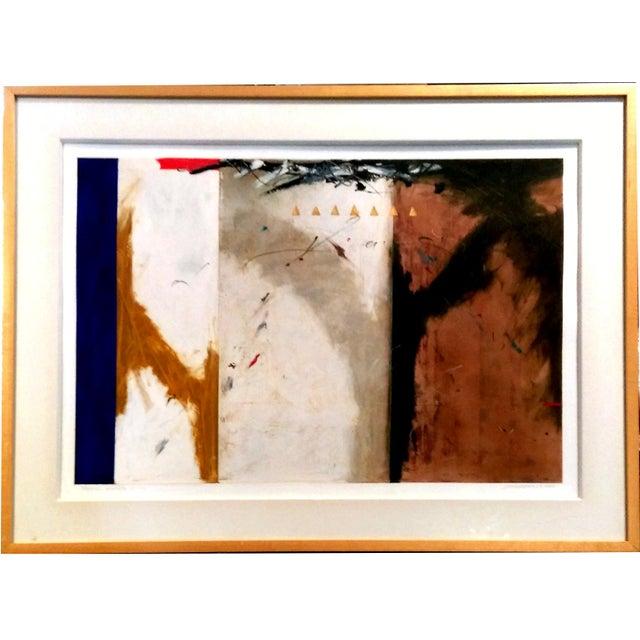"John Baughman ""Portal Series 1-23"" Mixed Media Art - Image 1 of 9"