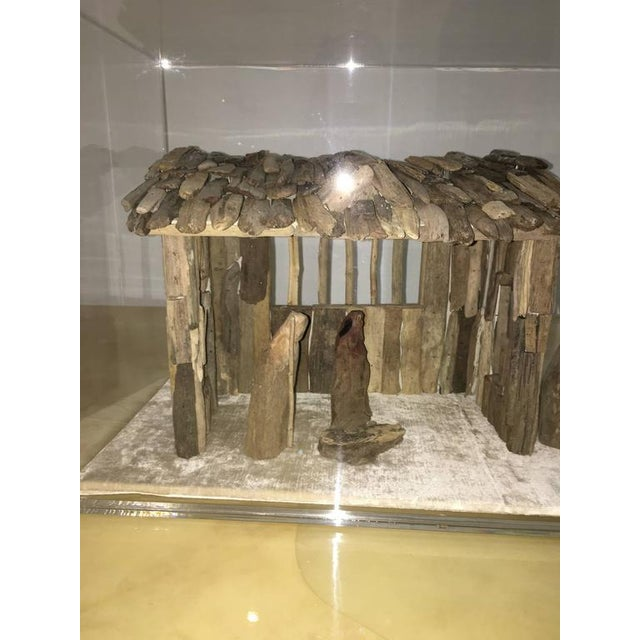 Customizable Nativity Scene in Driftwood and Lucite Object D'Art by AMK for Patricia Kagan - Image 7 of 7