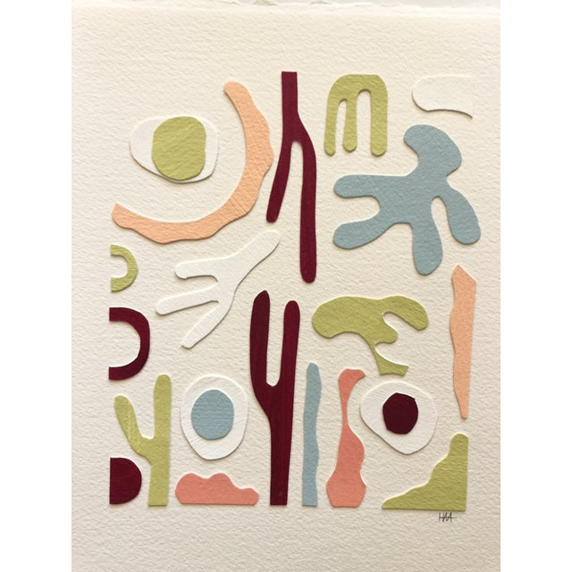 Abstract Medium Papercut Collage 3 by Hannah Myers For Sale - Image 3 of 3