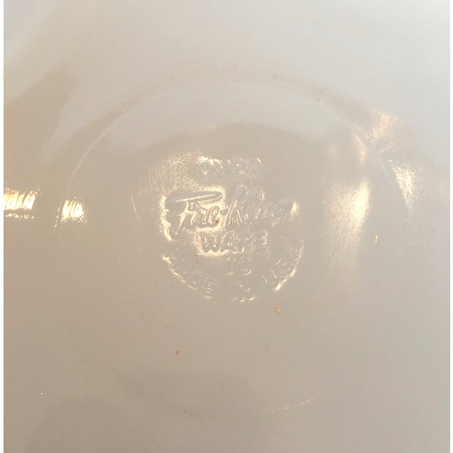 Fire King Divided Milk Glass Dish - Image 4 of 4