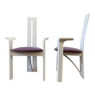 Pietro Costantini for Roche Bobois in Bianca- a Pair For Sale