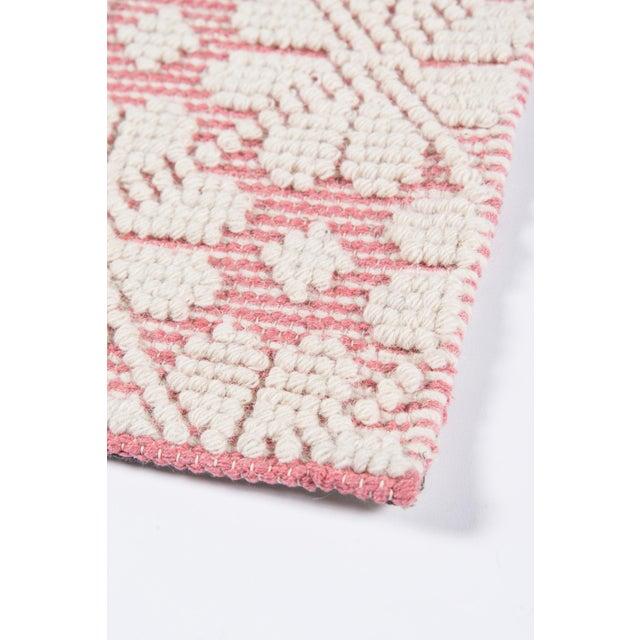 """Textile Madcap Cottage Lisbon Seville Pink Area Rug 3'6"""" X 5'6"""" For Sale - Image 7 of 8"""