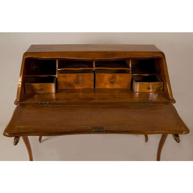 Circa 1825 French Slant Front Writing Desk For Sale - Image 4 of 7