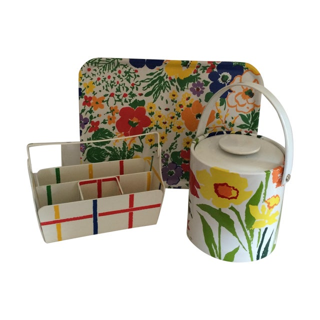 Mid Century Preppy Summer Picnic Set - Image 1 of 8