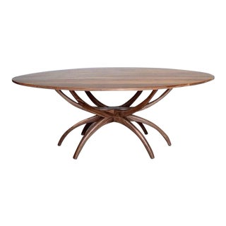 Jacks Solid Walnut Dining Table For Sale