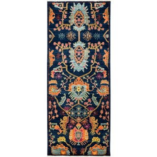 """Sibalou, Eclectic Runner Rug - 3'1"""" X 8'0"""" For Sale"""