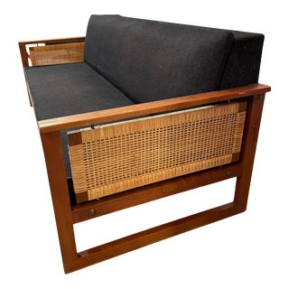 Danish Mid Century Daybed Sofa by Illum Wikkelsøe For Sale