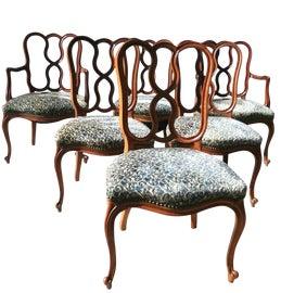 Image of Mahogany Dining Chairs