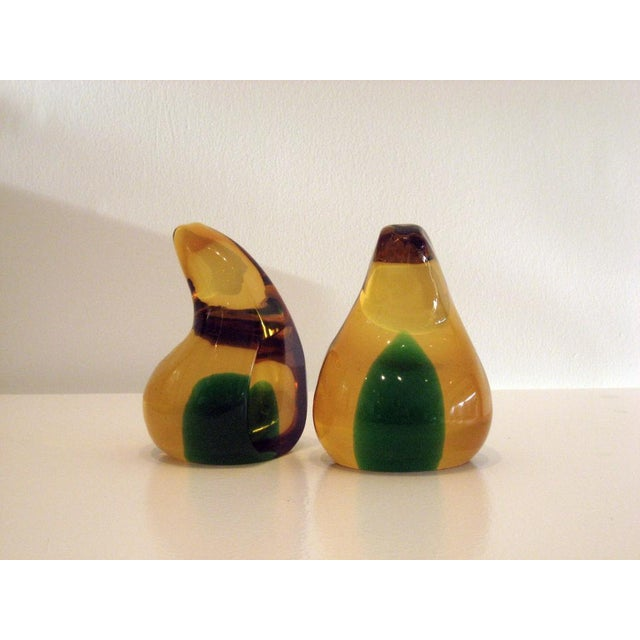 1950s Pair of Abstract Figured Book Ends For Sale - Image 5 of 5