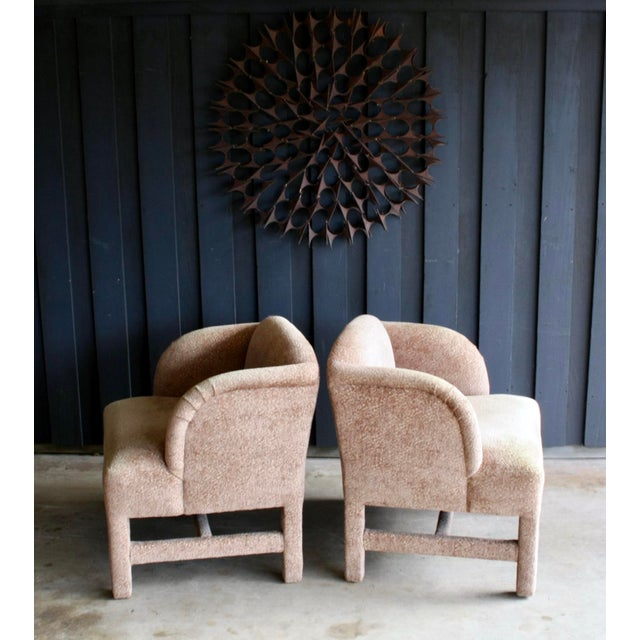 1980's Contemporary Chairs, a Pair For Sale In Dallas - Image 6 of 13