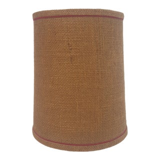 Mid Century Small Lampshade Drum Shade For Sale