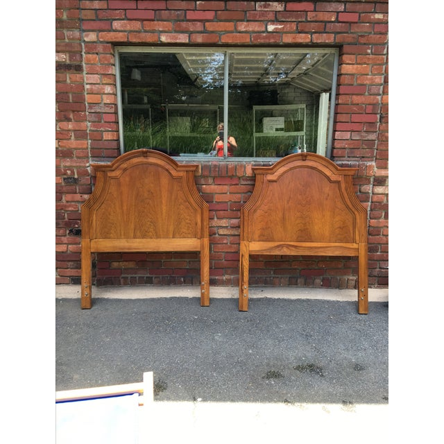 Lexington Twin Headboards - A Pair - Image 2 of 10
