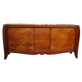 Elegant French Art Deco Sideboard For Sale