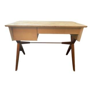 Baumritter Wooden Writing Desk For Sale