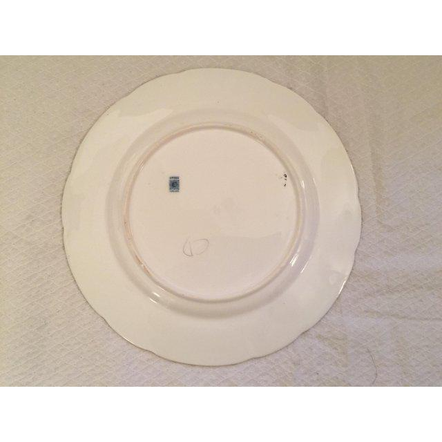 Spode 1930s English Traditional China Plate For Sale - Image 4 of 8