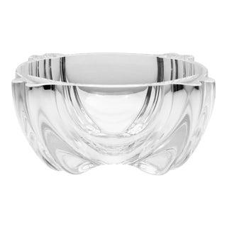 Alfredo Barbini for Oggetti Mod. 73 Clear Blown Glass Bowl, circa 1970 For Sale