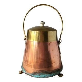 """Antique Dutch Ash Pot """"Doofpot"""""""