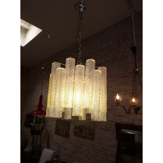 1960 Austrian Glass Chandelier - Image 2 of 5