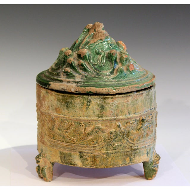 Antique Chinese Hill Jar Han Dynasty Pottery Jar For Sale - Image 12 of 12