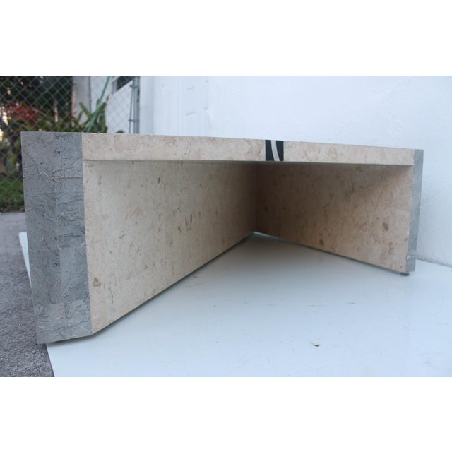 Maitland Smith Tessellated Stone Square Coffee Table - Image 10 of 11