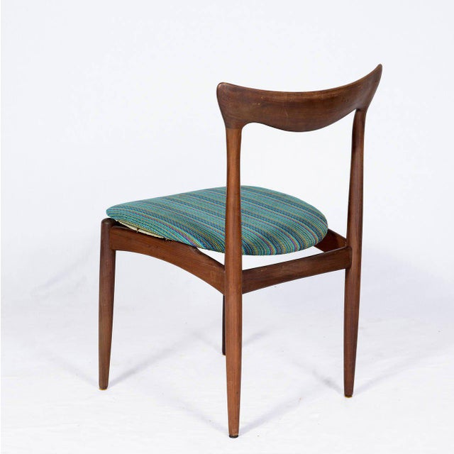 1950s Set of Four Danish Dining Chairs For Sale - Image 5 of 10