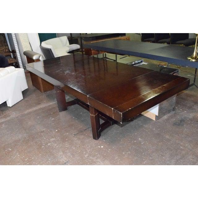 Walnut Robsjohn-Gibbings for Widdicomb Dining Table For Sale - Image 7 of 8