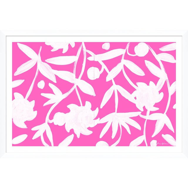 """""""Winnetka in Pink"""" By Dana Gibson, Framed Art Print For Sale"""
